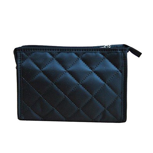 Tangda Handytasche Notizbuchtasche Aufbewahrungstasche Kosmetik Tasche Beutel Tote Bag Tragetasche große Size - Schwarz