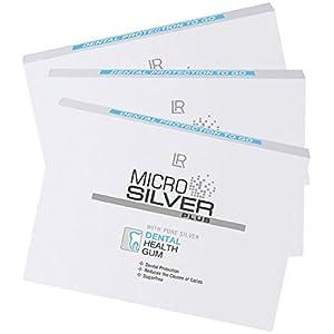 LR Microsilver Plus Zahnpflege-Kaugummi 3er Pack (3 x 10 Kaugummis)