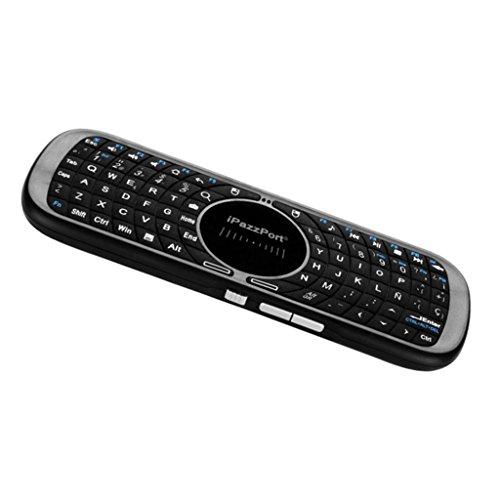 MagiDeal 2.4GHz Mini Clavier sans Fil Bluetooth avec Souris Tactile pour Raspberry Pi Smart TV PC - Noir