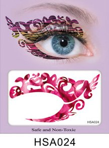 Party Augen Makeup Tattoo Spitze Aufkleber Halloween -HSA024 Sticker Tattoo - - Augen Ein Make-up Halloween