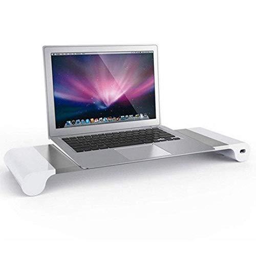 Mighty-eagle Smart Base Aluminium Alloy Base Halter mit 4 USB Port Ladestation, Laptop Smart Base Halter, Tischladestation für MacBook Laptop Monitor Universal