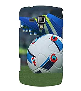Bluethroat a Shoe and a Soccer Ball Back Case Cover for Samsung Galaxy S Duos 2 S7582 :: Samsung Galaxy Trend Plus S7580