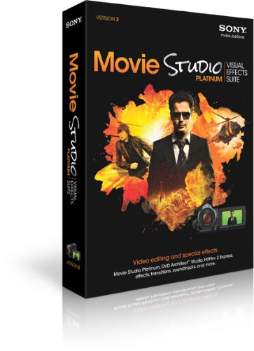 SONY Movie Studio Visual Effects Suite 2 (Film Bearbeitung)