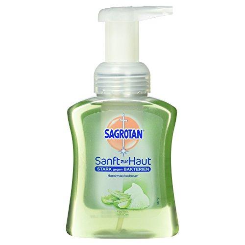 Dettol Antibakterielle Seife (Sagrotan Sam-Schaum Seife Aloe Vera, Schaumseife, 1er Pack (1 x 250 ml))