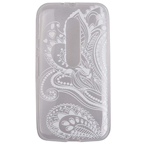 Voguecase® Per Apple iPhone 6/6s 4,7, Custodia fit ultra sottile Silicone Morbido Flessibile TPU Custodia Case Cover Protettivo Skin Caso (Torre a Parigi 03) Con Stilo Penna pizzo ipomea