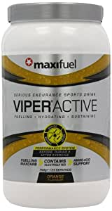 Maxifuel Viper Active Energy Drink Powder - Orange, 750 g