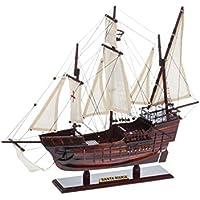 Modellschiff Santa Maria Holz Kolumbus Flaggschiff Segelschiff Karavelle Schiff