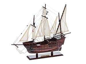 Maquette de la caravelle Santa-María de Christophe Colomb - bois