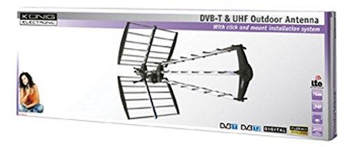 König ANT-UHF52L-KN 27 Elemente (LTE Filter) UHF Antenne