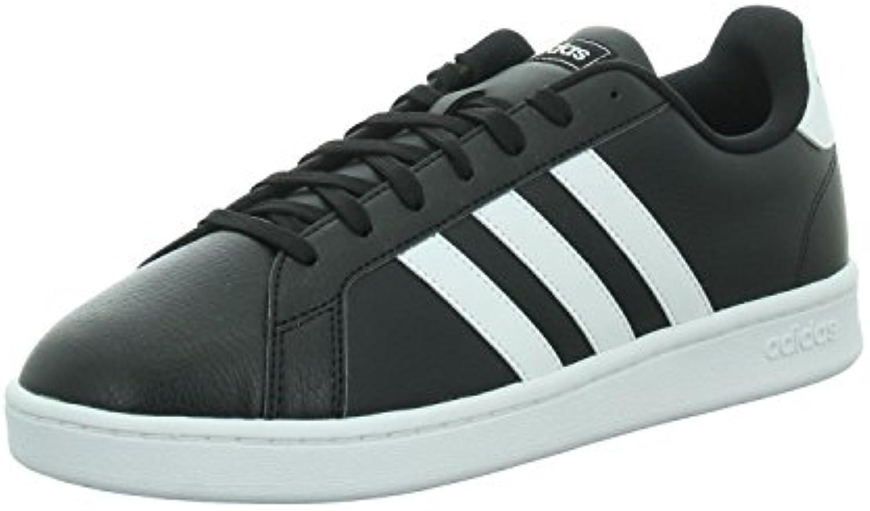 Adidas - Zapatos de Cordones de Cuero para Hombre -
