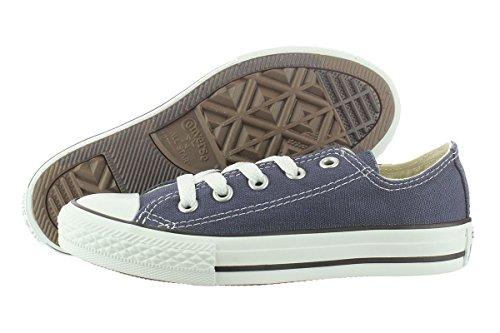 Converse Chuck Taylor All Star Core Ox, Sneaker Unisex – bambini Blu (Dunkelblau-Weiß)