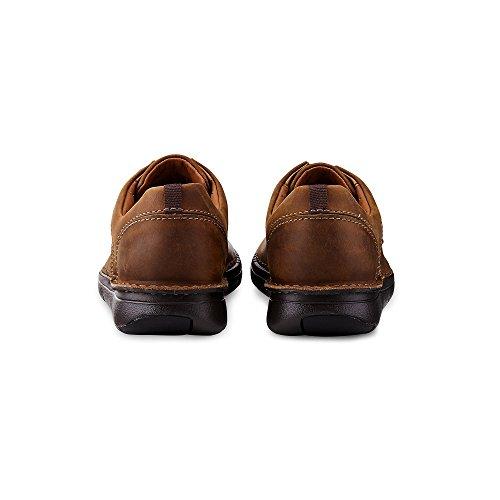 Clarks 26133320 7, Chaussures à Lacets et Coupe Classique Homme Marron