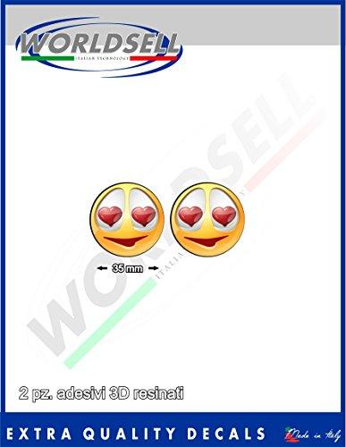 kit-de-adhsif-rsine-deffet-3d-2-piece-35-cm-emoticon-amour-sourire-coeur-smack-coeur-soleil-