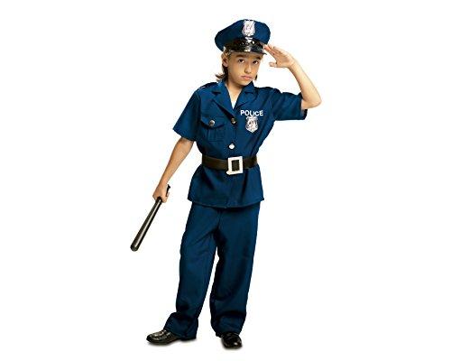 My Other Me - Disfraz de Policía para niño, talla 5-6 años (Viving Costumes MOM00933)
