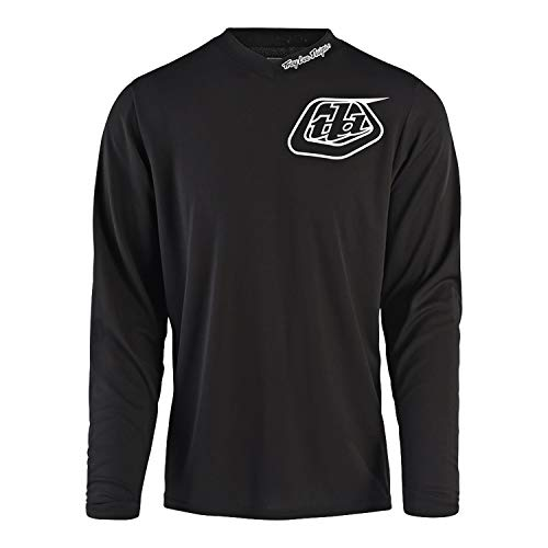 Troy Lee Designs Shirt, Jersey GP Jersey Mono schwarz M, Herren, Cross/Offroad, Ganzjährig, Baumwolle (Cruiser Bike Shirts)