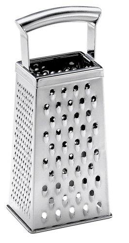Silit Vierkantreibe, 10 x 8,5 x 25,5 cm, ideal als Kartoffelreibe Gurkenhobel, Edelstahl, spülmaschinengeeignet