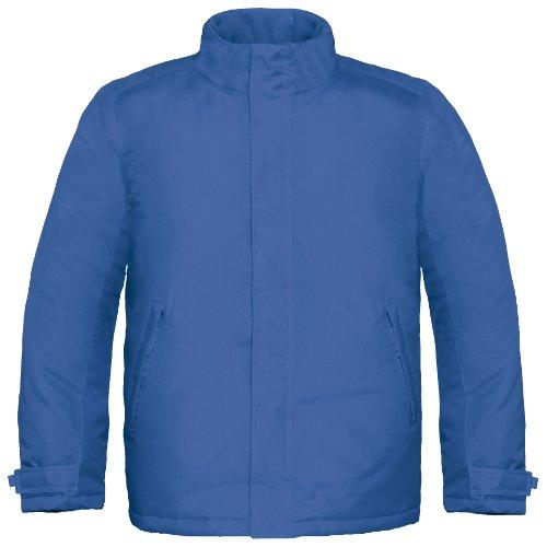 B&C Herren Premium Thermo-Jacke, wasserabweisend, winddicht Orange