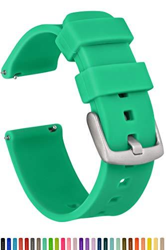 gadgetwraps Silikon Armbanduhr Band mit Quick Release Pins-wählen Sie zwischen 3Strap Größen (14mm, 20mm, 22mm) und 29Einzigartige Farben-Weiches Gummi Bands