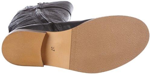 HIP D1107 Rough Leather D1107-000-10RL-0000-0000 Damen Stiefel Schwarz (Black)