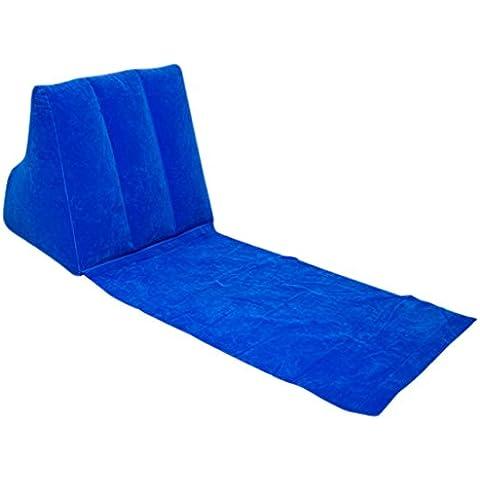 Escape  - Silla plegable de tela para exterior, azul