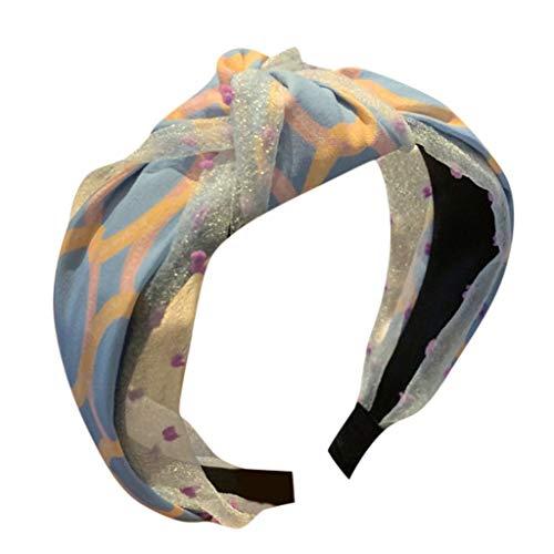 Kopfband Haarspange,Damen YounthoneFarbe gedruckt Stirnband Creative Headwear Zubehör Stirnband speciales neues Design für Damen Haarschmuck