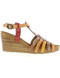 Sandalias de Mujer KICKERS 419281-50 SPAIN 4 ROUGE-MARRON