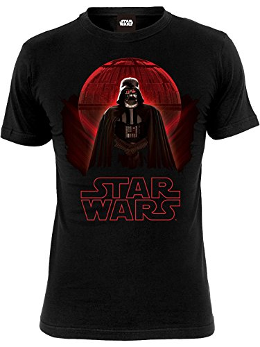 Star Wars Rogue One - Darth Vader Death Star Camiseta Negro 5XL