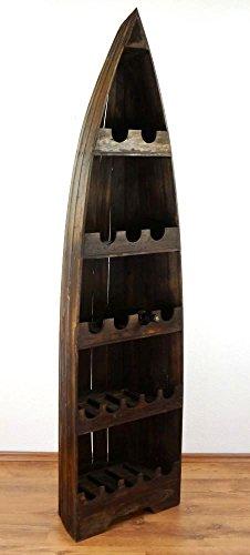 Asia Wohnstudio Weinflaschenregal, Flaschenregal, Weinflaschenhalter, Vinothek, Weinschrank,...