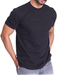 3er Pack Herren Regular Fit Rundhals T-Shirt - kurzarm - celodoro Exclusive