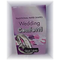 Wedding Confetti - Pack of 3 - Traditional Paper Shapes