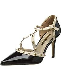 555f521c3d0 Amazon.co.uk  Kitten Heel - Court Shoes   Women s Shoes  Shoes   Bags
