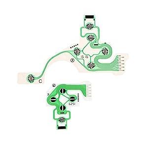 1 Paar Profi Platine Leiterbahn Tastenfolie Conductive Film für PS4 Controller Dualshock, aus Kunststoff