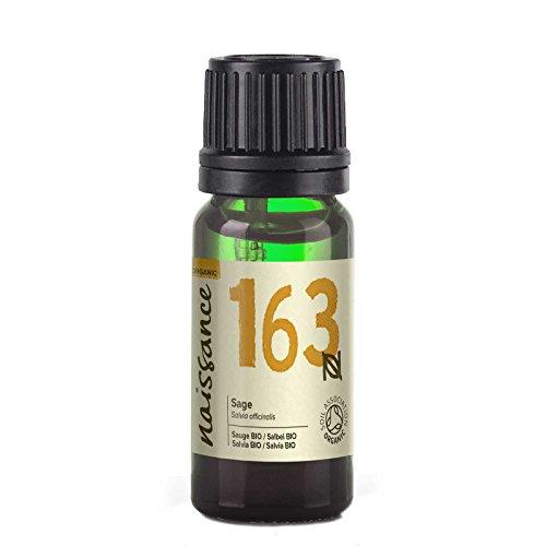 Naissance Olio di Salvia Biologico - Olio Essenziale Puro al 100% - 10ml