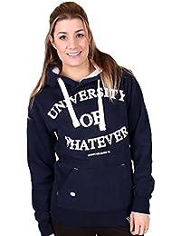 University of Whatever Premium Damen Hoodie Unestablished Original