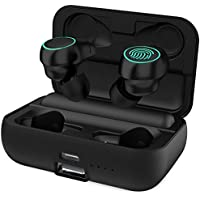 HolyHigh Auricolari Bluetooth 5.0 senza Fili Sport In ear Cuffie Bluetooth  IPX6 Wireless con 3000mAh Batteria 8763359bc57e