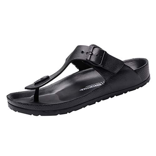 DQANIU- Herren Schuhe, Tasche & Schuhzubehör - Herren Slipper, Herren Summer Beach Atmungsaktive Schuhe Sandalen Herren Slipper Flip-Flops Flache Schuhe