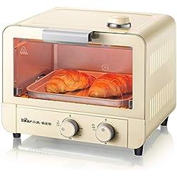15L mini cuisson à la vapeur et four électrique, petit four électrique 1200W pour le dortoir, bureau, four grille-pain