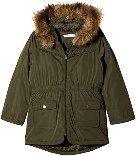NAME IT Mädchen NMFMARLIS Jacket Jacke, Grün Forest Night, 104