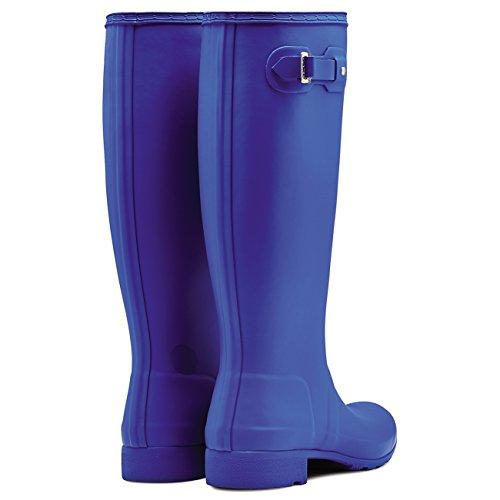 Damen Hunter Original Tour Regen Winter Schnee Gummistiefel Stiefel Azurblau