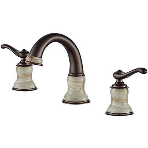 Modylee Classica girevole qualità rubinetto in ottone antico europeo piatti
