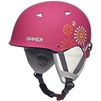 Sinner The Magic Childrens Ski Helmet Matte Black