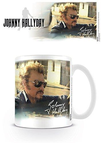 Johnny Hallyday MG24939 (Drive) Mug, Céramique, Multicolore, 11oz/315ml