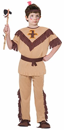 Kind Indian Kostüm Brave - Native American Indian Brave Costume Child Medium