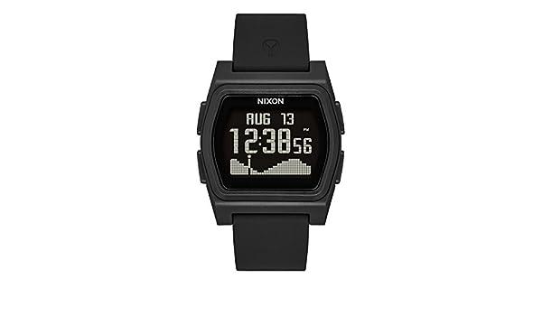 Digital Watch Armband Nixon Herren Mit Silikon Armbanduhr Smart I2DHE9