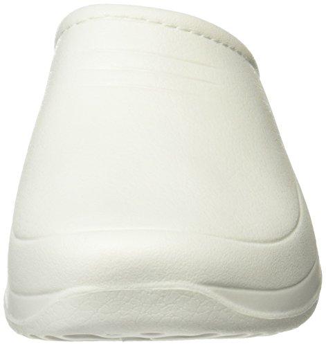 BEPPI Eva Clog 2120362, Scarpe antinfortunistiche donna bianco Size: Blanco (bianco)