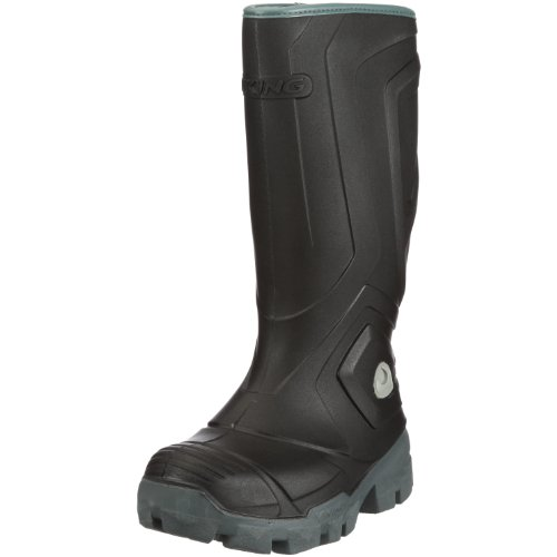 Viking ICEFIGHTER, Unisex-Erwachsene Gefütterte Gummistiefel, Schwarz (Black/Grey 203), 39 EU