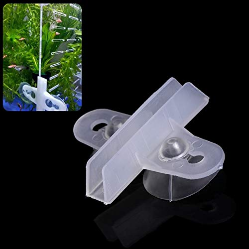 Livedeal - Juego 5 separadores plástico Acuario pecera