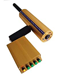 Pantalla LCD de mano del detector de metales plegable profundo detector sensible,naranja