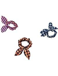 Buy 3pcs Rabbit Ears Hair Bands Rubber Band Hair Rope Hair Jewelry Hair Ring Headwear.