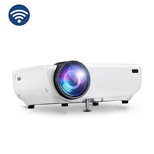 Ai LIFE LED-Videoprojektor 3600 Lumen Projektor HD 1080P mit nativem 800 * 480P LED-Projektor 130